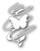 99679 Whirling Butterfly Silhouette craft die