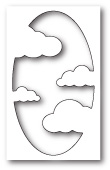 99700 Cool Cloud Collage craft die