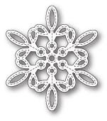 99786 Purslane Snowflake Outline craft die
