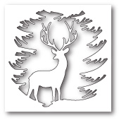 99787 Evergreen Reindeer craft die