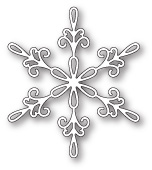 99806 Chancery Snowflake craft die