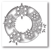 99812 Snowflake Lens craft die