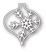 99830 Piccolo Snowflake Ornament craft die
