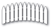 99878 Curved Picket Fence craft die