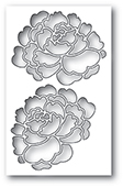 99911 Peony Collage craft die