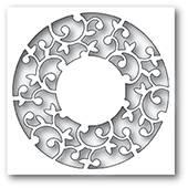 99982 Hutton Circle Collage craft die