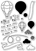 CL5157 Flying High Clear Stamp Set