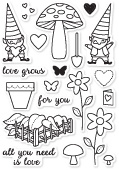 CL5167 Love Grows clear stamp set