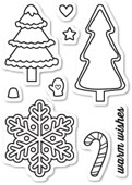 CL5185 Christmas Cookies Clear Stamp Set