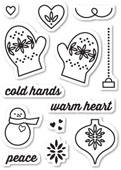 CL5188 Warm Heart Clear Stamp Set