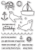 CL5198 Seal of Approval clear stamp set