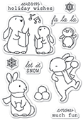 CL5224 Snow Much Fun clear stamp set