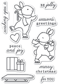CL5226 Be Jolly clear stamp set