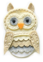 99518 Plush Wise Owl craft die
