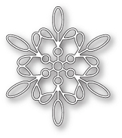 99796 Purslane Snowflake craft die