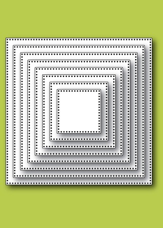 30060 Pinpoint Square Layers craft dies