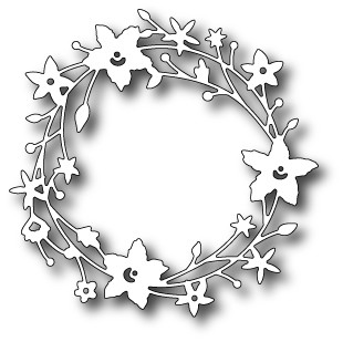 98189 Catalina Wreath craft dies