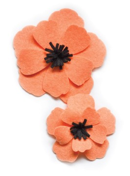 99431 Plush Anemone craft die