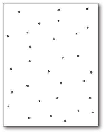 99473 Speckled Background craft die