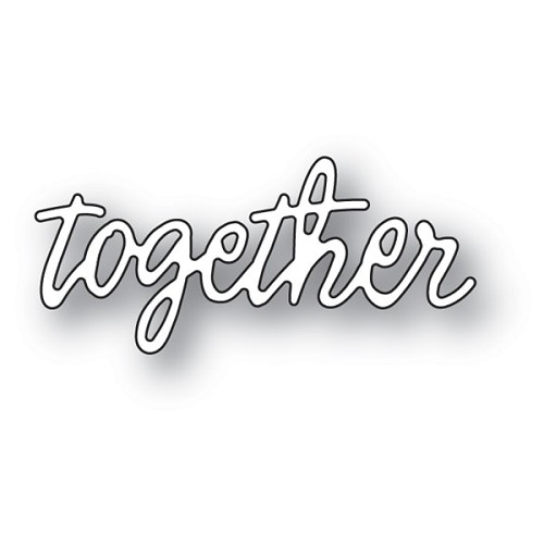 94096 Together Journal Script craft die