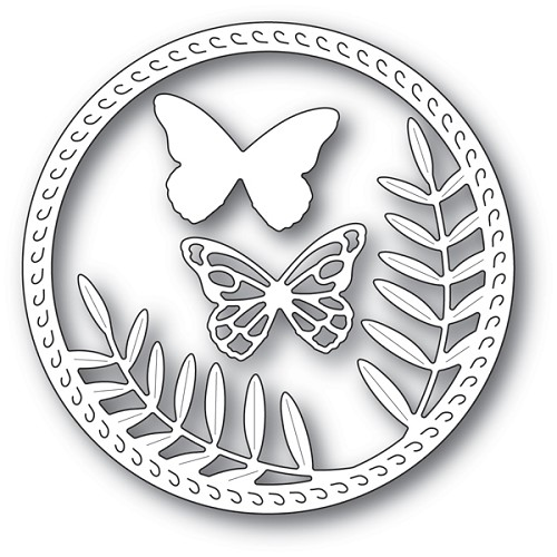 94230 Butterfly Frond craft die