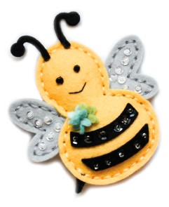 99614 Plush Big Bumble craft die