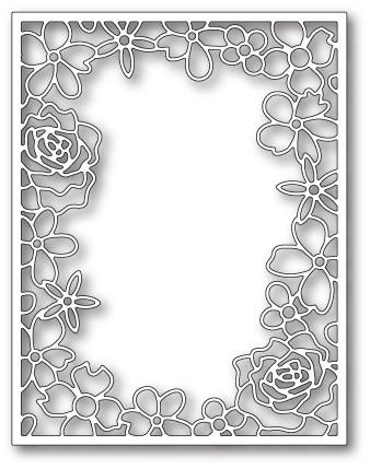 Floral Fantasy Frame