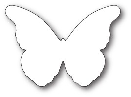 99783 Chantilly Butterfly Background craft die