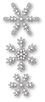 99850 Piccolo Snowflakes craft die