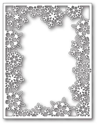 Silent Snowflake Frame