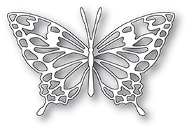 99917 Adora Butterfly craft die