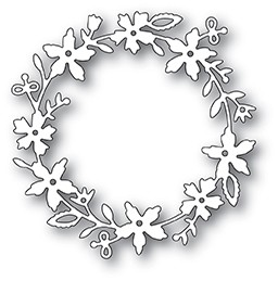 99952 Devonshire Wreath craft die
