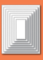 30009 Stitched Rectangle Layers craft dies