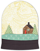 30108 Enchanting Snowglobe deep edge craft die