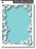 88563 Blooming Frame stencil