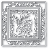 Memory Box - Elegant Holly Double Frame