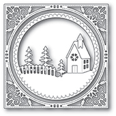 94038 Country Church Frame craft die