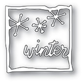 94093 Winter Journal Frame craft die