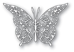 94116 Lace Butterfly craft die