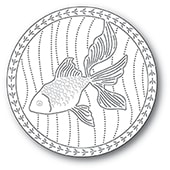 94223 Serene Goldfish craft die