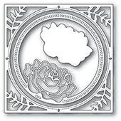 94229 Splendid Rose Frame craft die