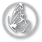 94233 Peaceful Butterfly Circle craft die