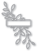 94258 Antique Leaf Label craft die