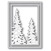 94280 Pine Tree Frame craft die