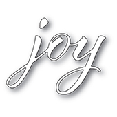 94325 Joy Airy Script craft die
