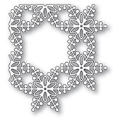 94336 Bauble Snowflake Corner craft die