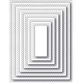 94360 Double Stitch Rectangle Cut Out craft die
