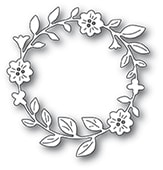 94369 Bellfower Circle Wreath craft die
