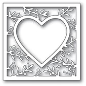 94370 Lavonia Heart Frame craft die