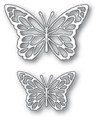94383 Gloriosa Butterfly Duo Outlines craft die